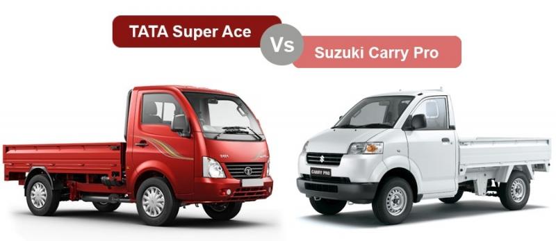 Đánh Giá Xe TATA Super Ace Với Suzuki Carry Pro