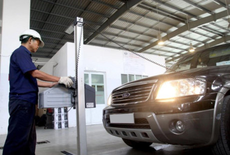 Hàng nghìn chủ xe bị cơ quan đăng kiểm từ chối vì chưa nộp phí